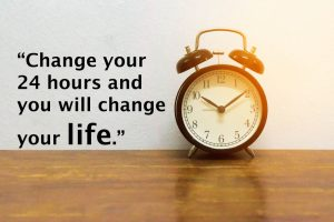 change your 24 hours