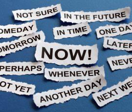 concept for procrastination